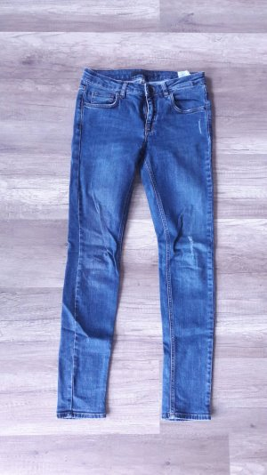 Victoria Beckham Jeans Skinny Destroyed Effekte 27 Röhre