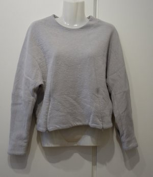 Victoria Beckham oversize loose fit Sweater Pullover Gr. S/M hellgrau Clean Chic