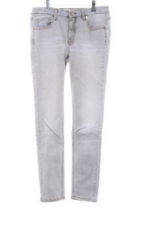 Victoria Beckham Skinny Jeans hellgrau Casual-Look
