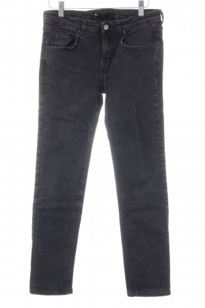 Victoria Beckham Skinny Jeans anthrazit Casual-Look