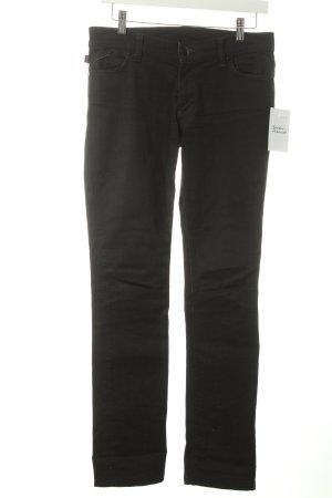 Victoria Beckham Skinny Jeans schwarz schlichter Stil