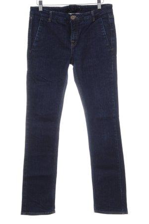 Victoria Beckham Slim Jeans dunkelblau Casual-Look