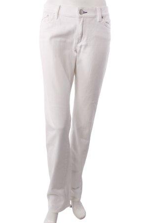 Victoria Beckham Slim Jeans weiß