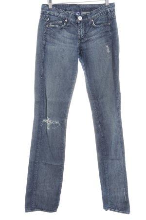 Victoria Beckham Straight-Leg Jeans blau Casual-Look