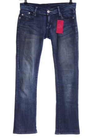 Victoria Beckham Straight Leg Jeans blue casual look