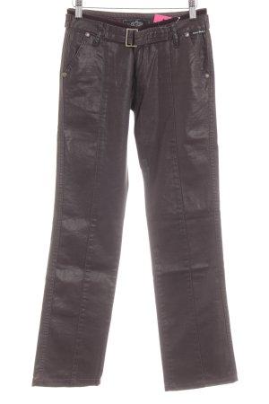 Victoria Beckham Straight-Leg Jeans dunkelbraun Casual-Look