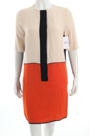 Victoria Beckham Tunikakleid Colourblocking schlichter Stil