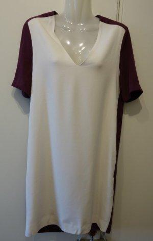 Victoria by Victoria Beckham Designer 2-tone Kleid Tunika Shirtkleid Gr. S (36)
