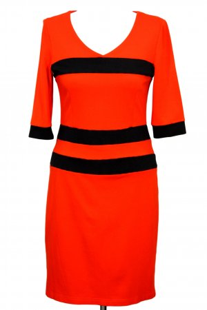 Victoria by Victoria Beckham Kleid in Orange