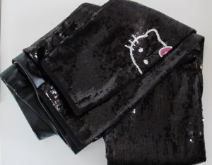 """Victoria Casal"" Kitty Leggings schwarz Pailletten Gr. 34 XS  NP 169,-€"