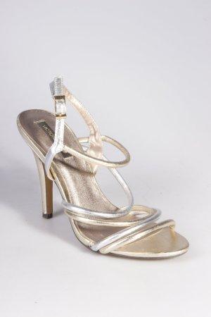 Victoria Delef Sandaletten gold-silber-farben