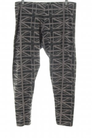 Victoria's Secret 3/4 Length Trousers black-light grey abstract pattern