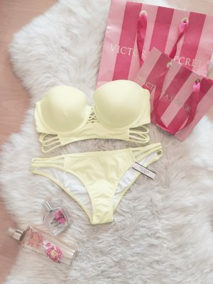 Victoria's Secret Bandeau Push Up Blogger Bikini NEU Gr.XS/S