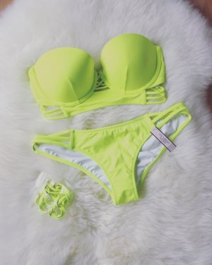 Victoria's Secret Bandeau Push Up Blogger Bikini NEU Gr.XS/S