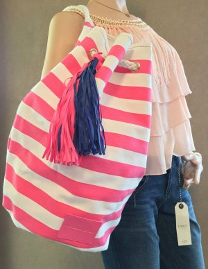 Victoria's Secret Beach Bag, VS Tasche, Rucksack  mit Fransen