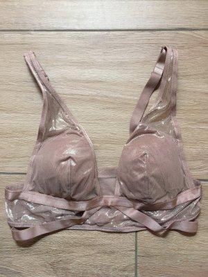 Victoria's Secret BH Größe S nude atrosa schimmernd