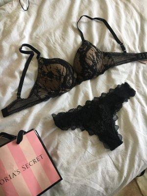 Victoria's Secret Soutien-gorge noir-rose clair