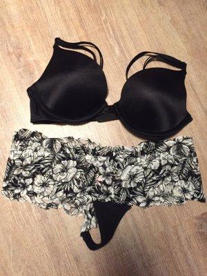 Victoria's Secret Lingerie Set black-white