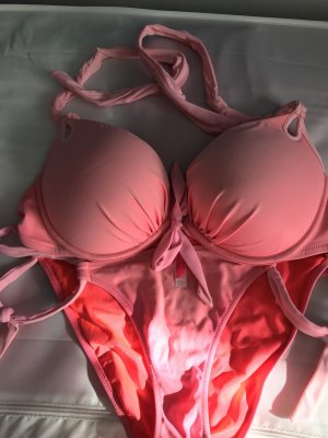Victoria's Secret Bikini extrem Push Up pink rosa neon 70D 75D 80D 85D DD