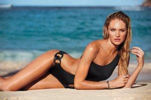 Victoria´s Secret Bikini Monokini Badeanzug S schwarz