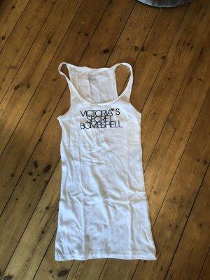 Victoria's Secret Bombshell Tank Top Gerippt Shirt Druck Glitzer