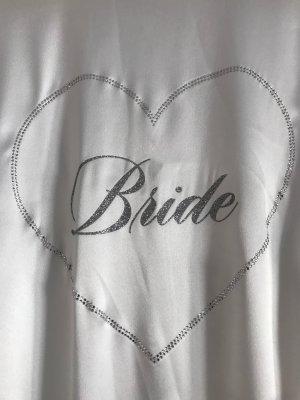 Victoria's Secret Braut-Bademantel Weiß