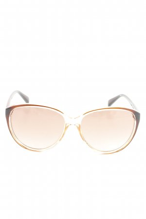 Victoria's Secret Butterfly Glasses brown-natural white business style