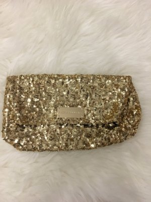 Victoria's Secret Clutch Pailletten Gold