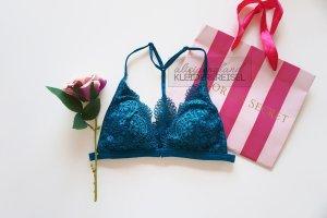 Victoria's Secret Front Close Bralette Petrol Türkis
