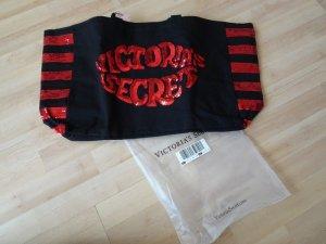 Victoria's Secret Shopper zwart-rood Gemengd weefsel