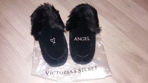 Victoria's Secret House Shoes black