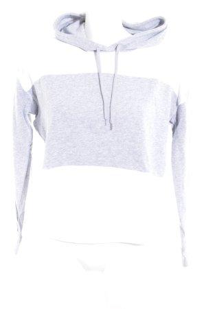 Victoria's Secret Kapuzenpullover weiß-hellgrau Casual-Look