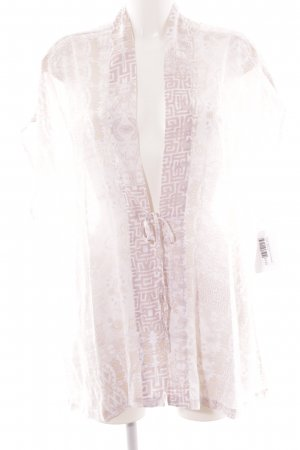Victoria's Secret Kimono rosé abstract patroon lingerie stijl
