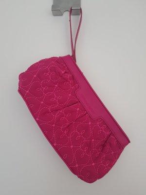 Pink Victoria's Secret Borsa porta trucco magenta