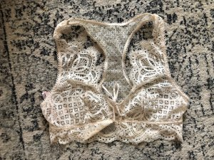 Victoria's Secret Bustier Top natural white-cream