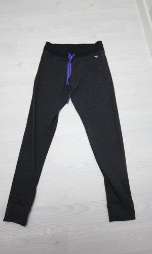 Victoria's Secret Pantalone da ginnastica grigio scuro-blu