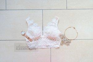 Victoria's Secret Lochmuster Bralette Coconut White
