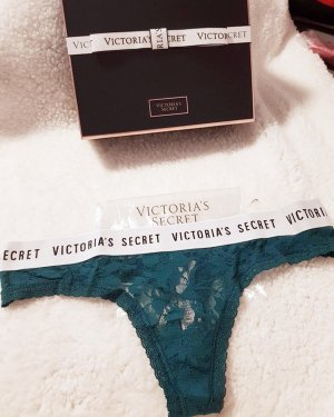 Victoria's Secret Braguita petróleo-azul cadete
