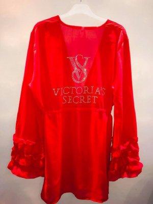 Victoria's Secret Négligé rouge tissu mixte