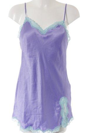 Victoria's Secret Negligee hellblau-flieder Lingerie-Look