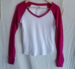 Victoria's Secret PINK Baseball Shirt in Berry