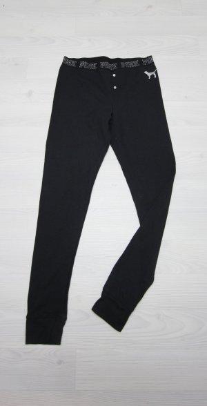 Victoria's Secret Leggings nero-argento