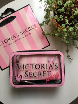 Victoria's Secret Reise Travel Trio Tasche Neu
