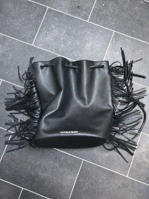 Victoria's Secret Sac à dos à roulettes noir