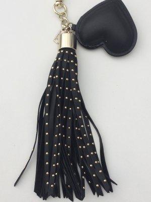 Victoria's Secret Llavero negro Imitación de cuero
