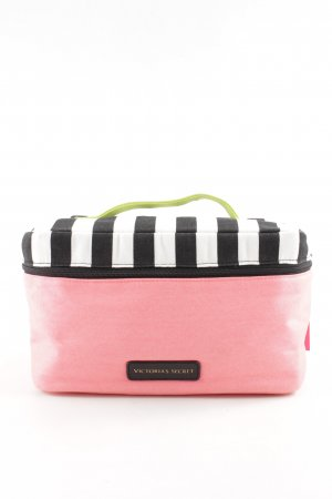 Victoria's Secret Make-up Kit striped pattern casual look