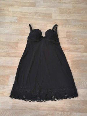 Victoria's Secret schwarzes Negligee mit Spitze