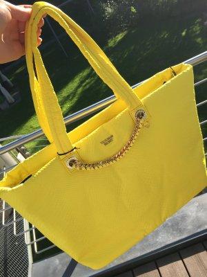 Victoria's Secret Shopper yellow nylon