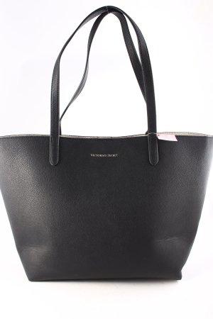 Victoria's Secret Shopper black-gold-colored logo print