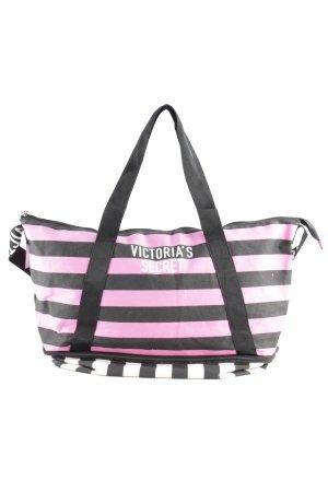 Victoria's Secret Shopper striped pattern street-fashion look